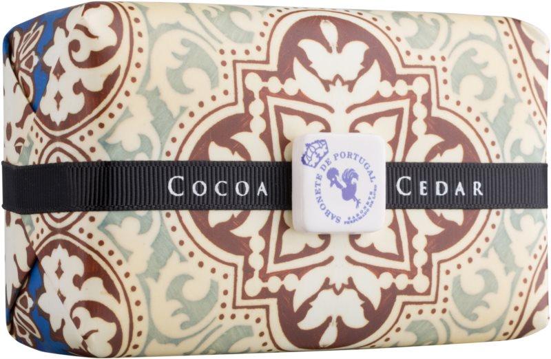 Castelbel Portuguese Tile Cocoa & Cedar luxusní mýdlo