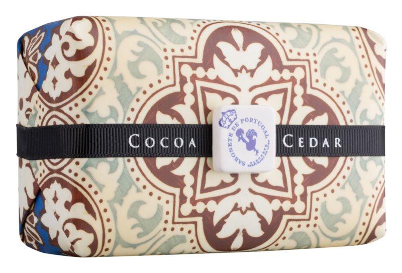 Castelbel Portuguese Tile Cocoa & Cedar sabão luxuoso