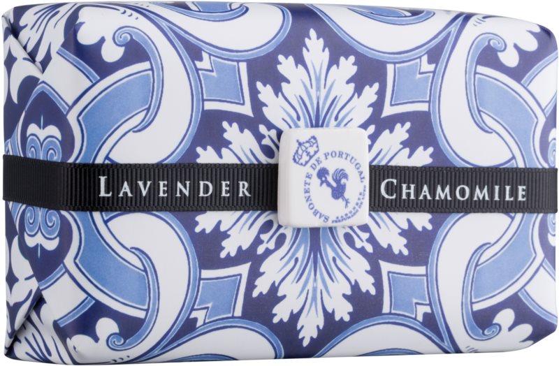Castelbel Portuguese Tile Lavender & Chamomile sabão luxuoso