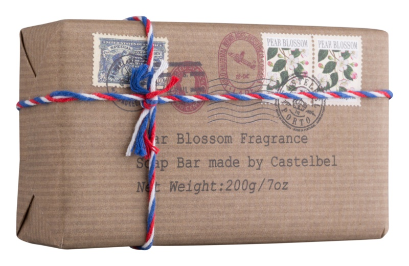 Castelbel Postcards Pear Blossom Bar Soap For Hands