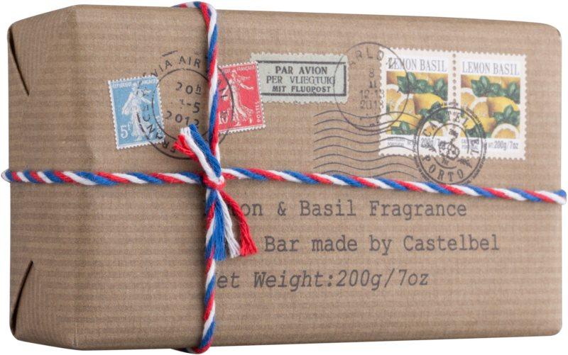 Castelbel Postcards Lemon & Basil savon de luxe mains