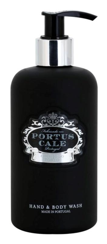 Castelbel Portus Cale Black Range gel de limpeza para mãos e corpo