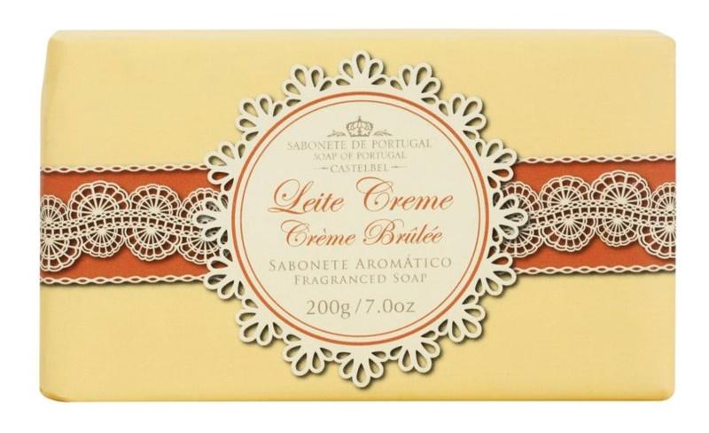 Castelbel Gourmet Collection Crème Brûlée sabonete português de luxo