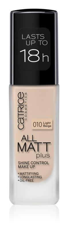 Catrice All Matt Plus тональний крем з матуючим ефектом