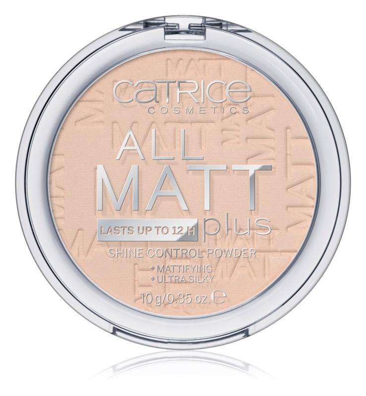 Catrice All Matt Plus mattító púder