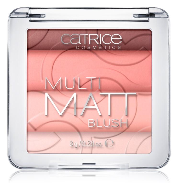 Catrice Multi Matt blush cu efect matifiant