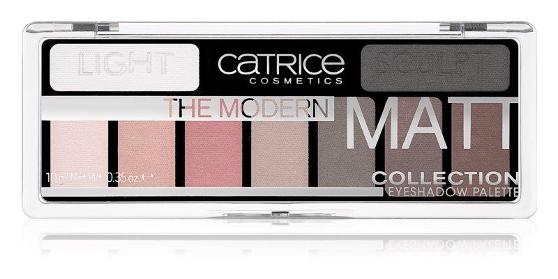 Catrice The Modern Matt Collection paleta očných tieňov