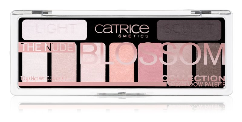 Catrice The Nude Blossom Collection szemhéjfesték paletta