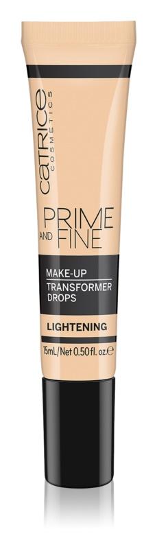 Catrice Prime And Fine kapljice za osvetljevanje za v tekoči puder
