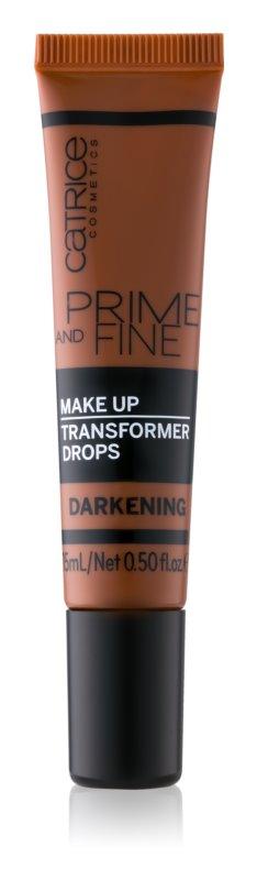Catrice Prime And Fine затемлювальна сироватка для макіяжу