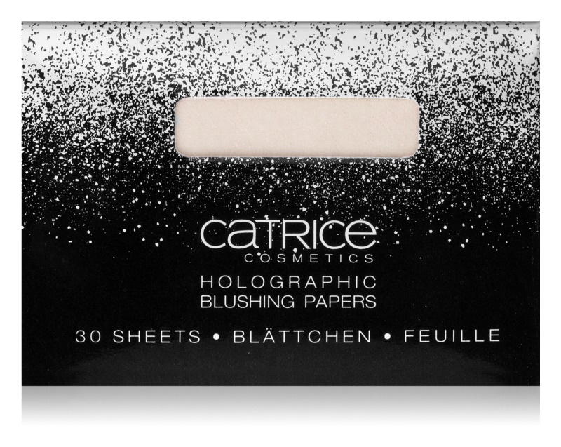 Catrice Dazzle Bomb Holografisches Papier-Rouge