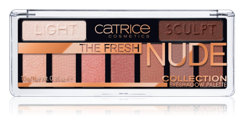 Catrice The Fresh Nude Collection očné tiene