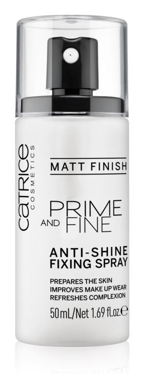 Catrice Prime And Fine спрей-фіксатор макіяжу