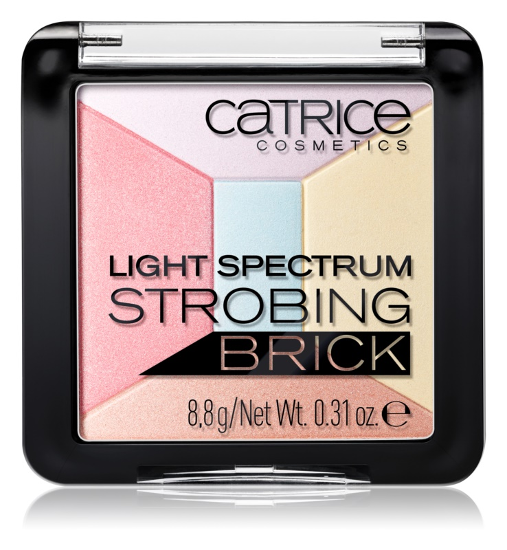 Catrice Light Spectrum Strobing Bricks хайлайтер