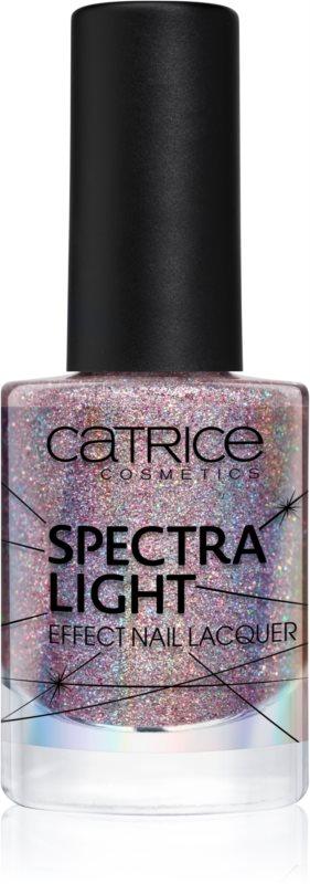 Catrice Spectra Light lak na nehty s holografickým efektem