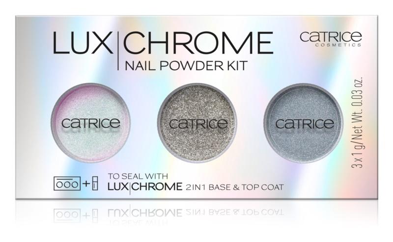 Catrice Luxchrome пігменти для нігтів