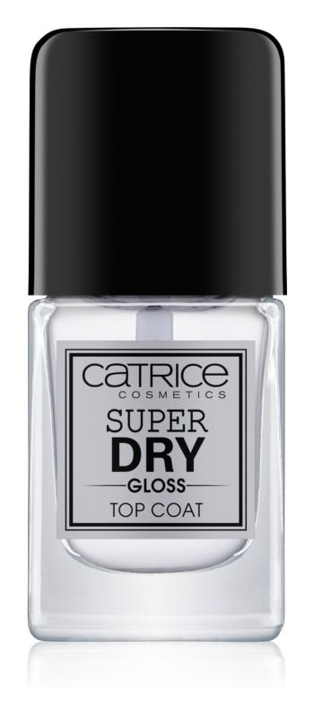 Catrice Super Dry Gloss vrchný lak na nechty urýchľujúci vyschnutie