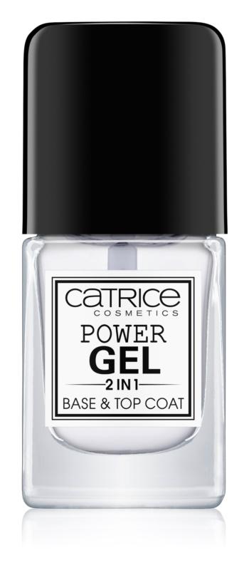 Catrice Power Gel 2 in1 base et top coat