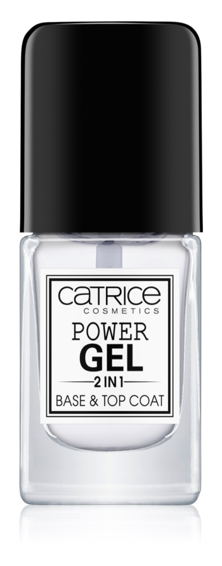 Catrice Power Gel 2 in1 lac de unghii de baza si superioara