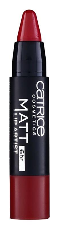 Catrice Matt Lip Artist 6hr ruj in creion