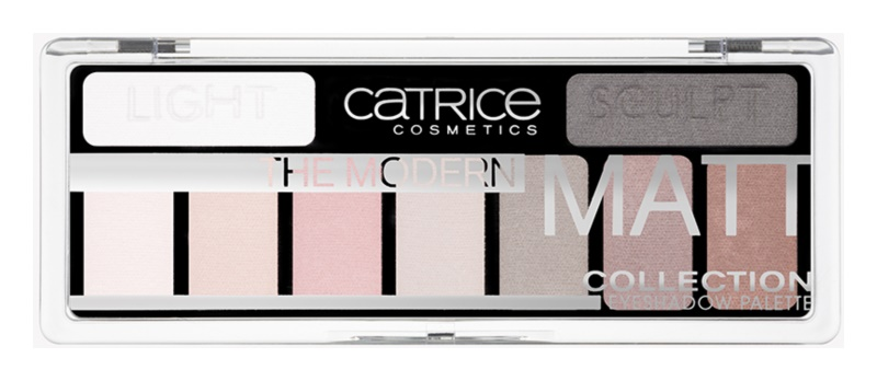 Catrice The Modern Matt Collection палетка тіней