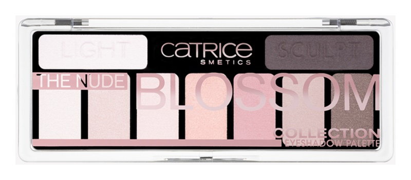 Catrice The Nude Blossom Collection палетка тіней