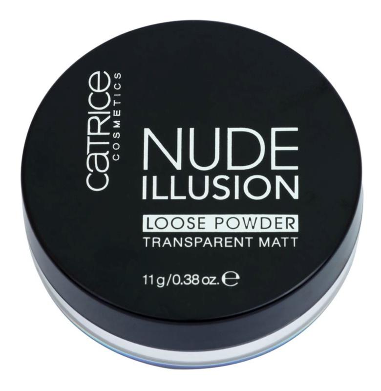 Catrice Nude Illusion matt átlátszó púder