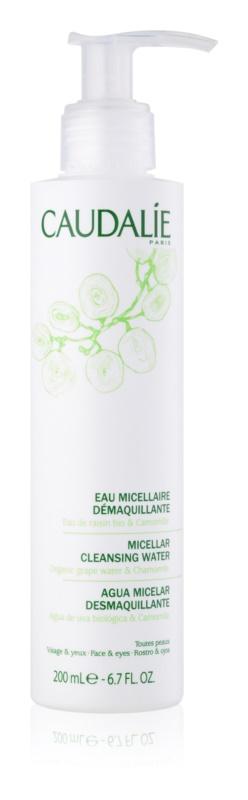 Caudalie Cleaners&Toners água micelar de limpeza para rosto e olhos