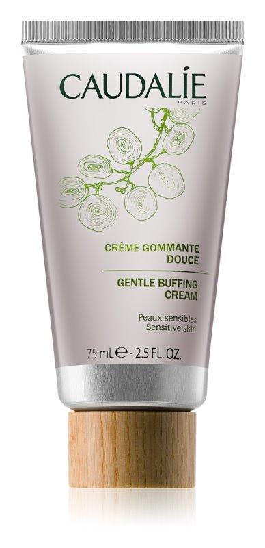 Caudalie Masks&Scrubs Zachte Exfolierende Crème  voor Gevoelige Huid