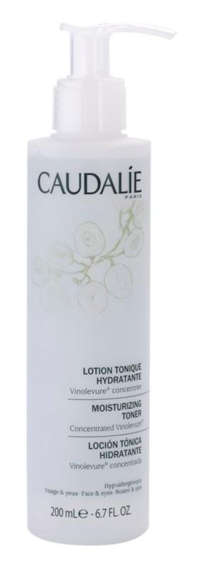Caudalie Cleaners&Toners hidratáló tonik az arcra és a szemekre