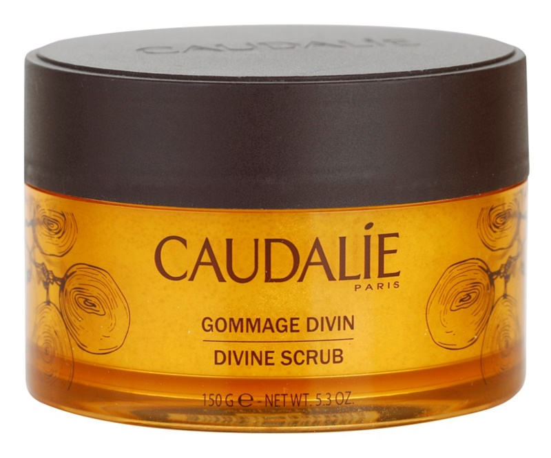 Caudalie Divine Collection tělový peeling