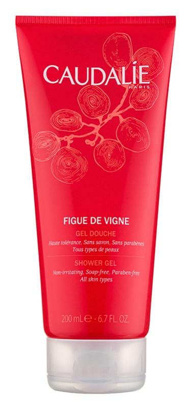 Caudalie Figue De Vigne gel de duche para mulheres 200 ml
