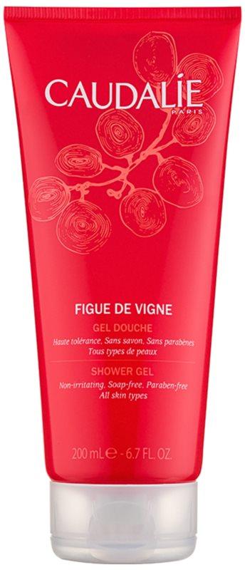 Caudalie Figue De Vigne sprchový gél pre ženy 200 ml