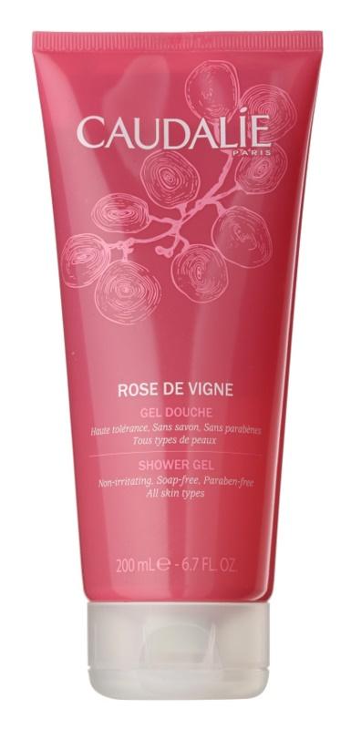 Caudalie Rose de Vigne gel de dus pentru femei 200 ml