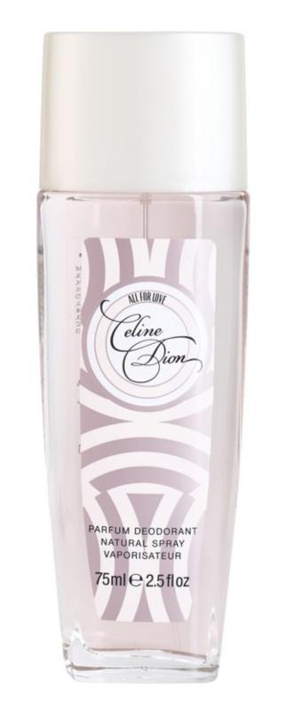 Celine Dion All for Love Deo mit Zerstäuber Damen 75 ml