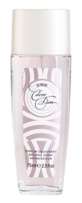 Celine Dion All for Love deodorant s rozprašovačem pro ženy 75 ml