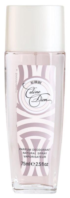 Celine Dion All for Love dezodorant z atomizerem dla kobiet 75 ml