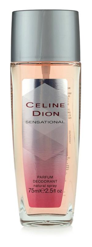 Celine Dion Sensational deodorant s rozprašovačem pro ženy 75 ml