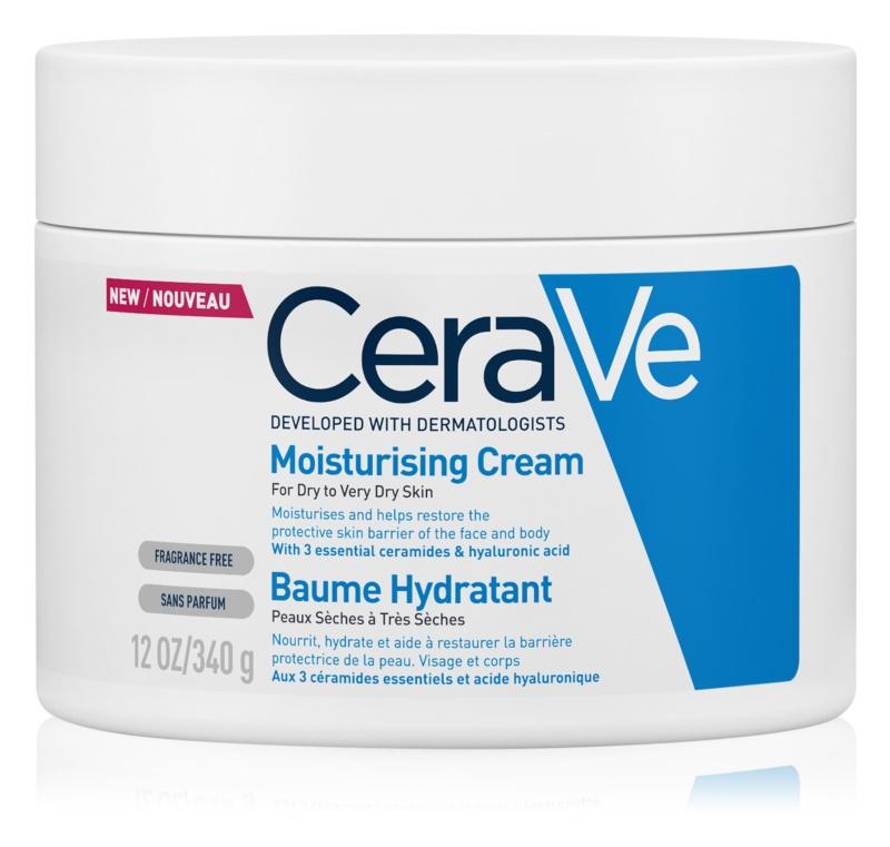 CeraVe Moisturizers Hydraterende Crèmevoor Gezicht en Lichaam  voor Droge tot Zeer Droge Huid