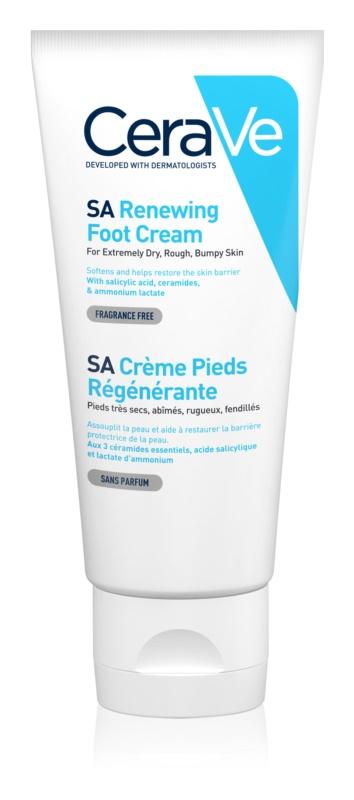 CeraVe SA відновлюючий крем для ніг
