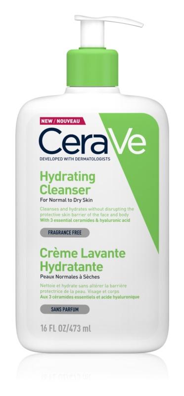 CeraVe Cleansers очищуюча емульсія зі зволожуючим ефектом