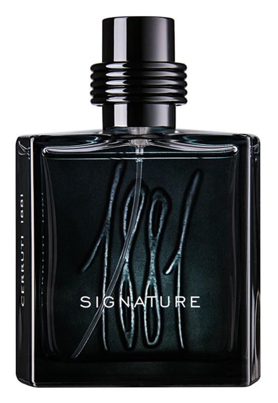 Cerruti 1881 Signature eau de parfum per uomo 100 ml