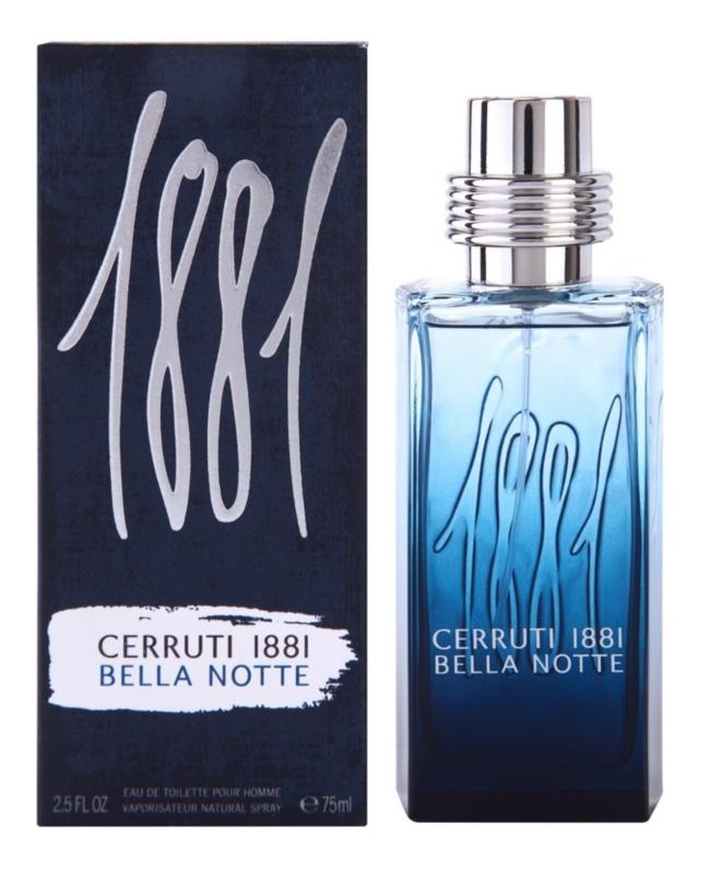 Cerruti 1881 Bella Notte toaletní voda pro muže 75 ml