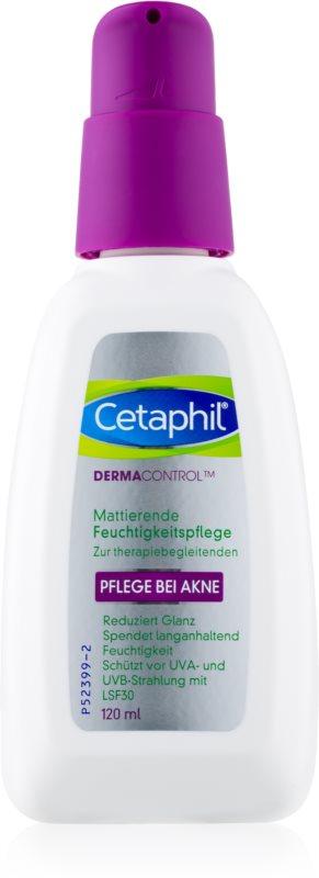 Cetaphil DermaControl Hidratáló krém akné ellen SPF 30