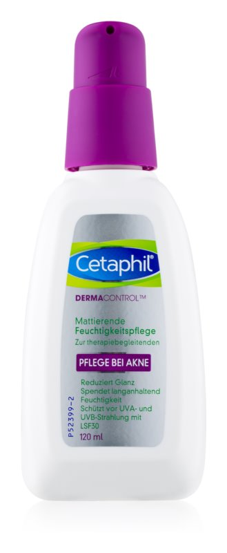 Cetaphil DermaControl Hydratating Mattifying Cream for Acne-Prone Skin SPF 30