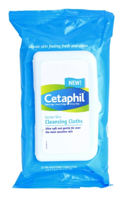 Cetaphil Cleansers tisztító gyengéd törlőkendő
