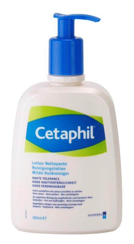 Cetaphil Cleansers loción limpiadora para pieles sensibles y secas