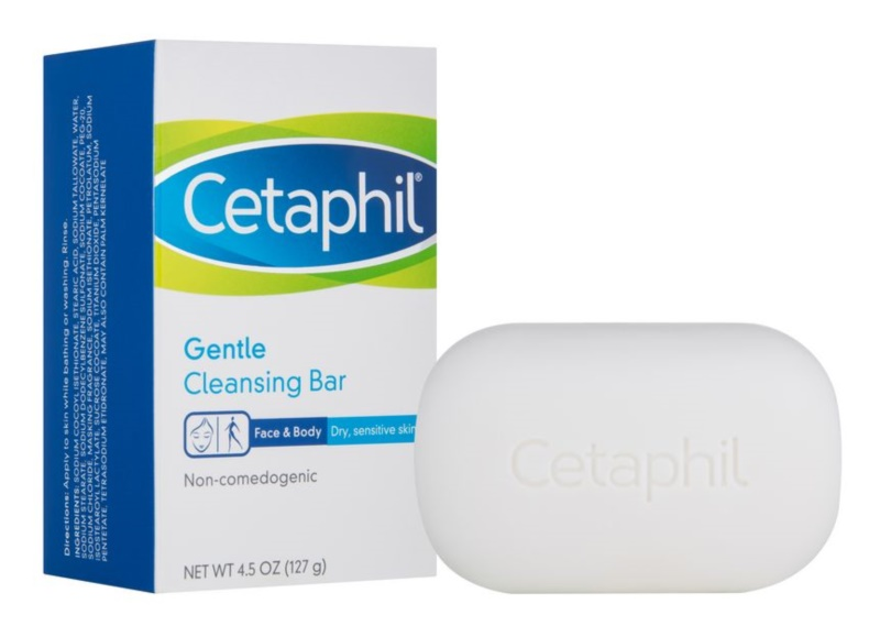 Cetaphil Cleansers jabón limpiador suave  para pieles secas y sensibles