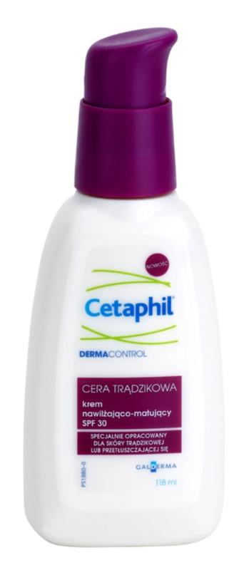 Cetaphil DermaControl hydratační matující krém SPF30