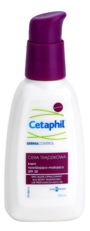 Cetaphil DermaControl Hydratating Mattifying Cream for Acne-Prone Skin SPF 30